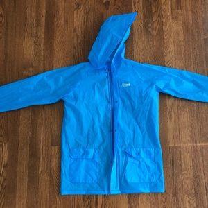 Coleman lightweight rain jacket (one size) w hood